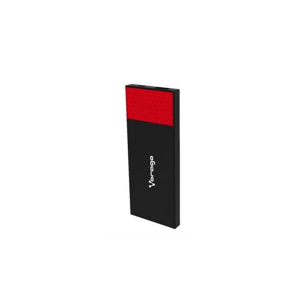 POWER BANK VORAGO PB-200 3800 mAh 1 USB ROJO