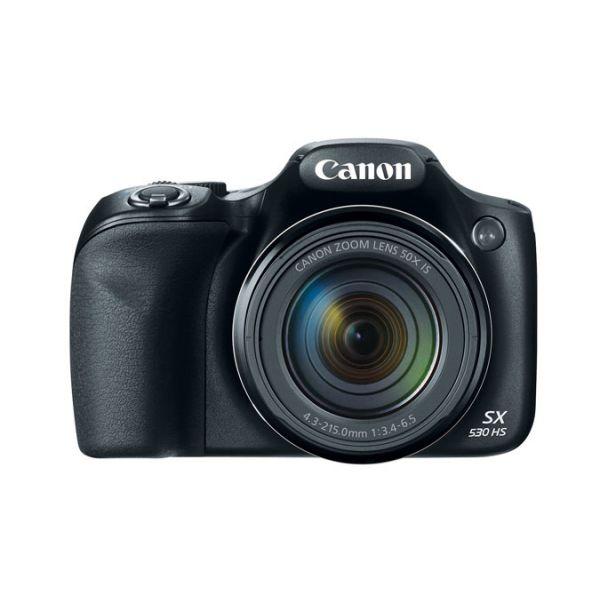 CAMARA CANON POWERSHOT SX530 16MPX 50X 1080P WI-FI NEGRO 9779B001AA