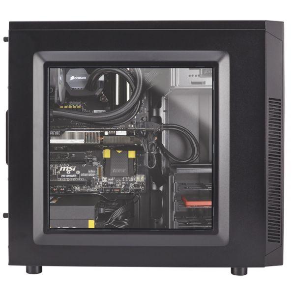 GABINETE CORSAIR 100R CARBIDE NEGRO USB 3.0 SIN FUENTE CC-9011075-WW