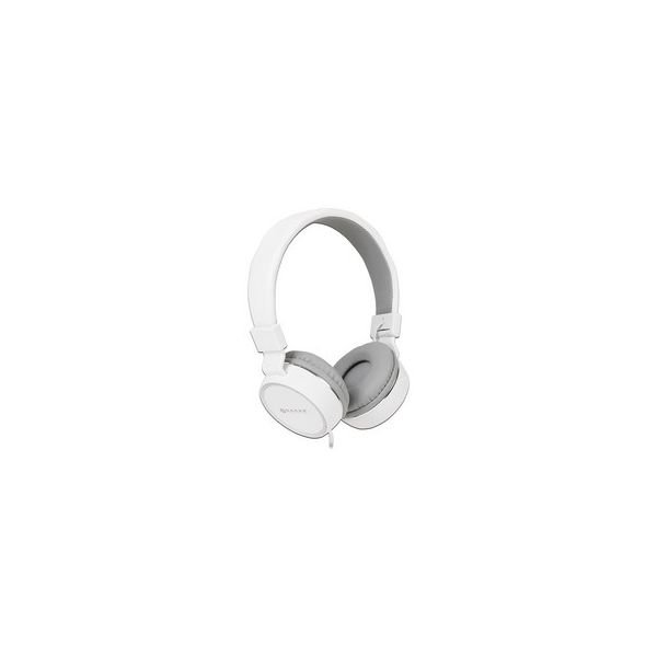 AUDIFONOS NACEB TECHNOLOGY NA-0310B BLANCO 3.5 MM 1.2 M 110 DB +- 3DB