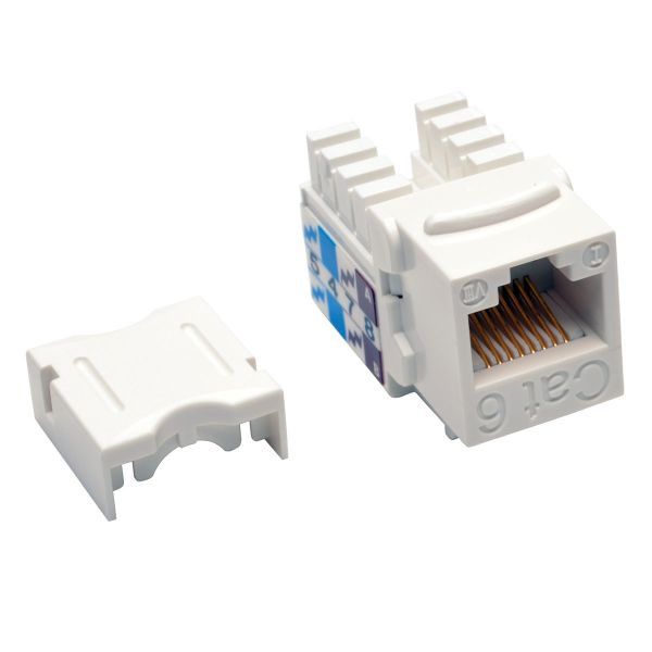 CONECTOR KEYSTONE TRIPP LITE JACK 110 PUNCHDOWN CAT6/5E BCO