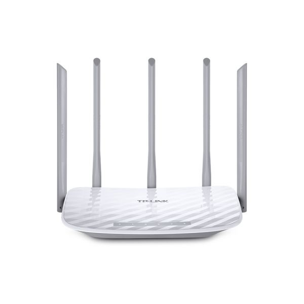 ROUTER INALAMBRICO TP-LINK/AC1350 DUAL BAND/5ANTENAS/ARCHER C60