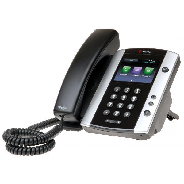 TELÉFONO IP VVX 500 POLYCOM 3.5'' ALÁMBRICO 12 LÍNEAS ALTAVOZ