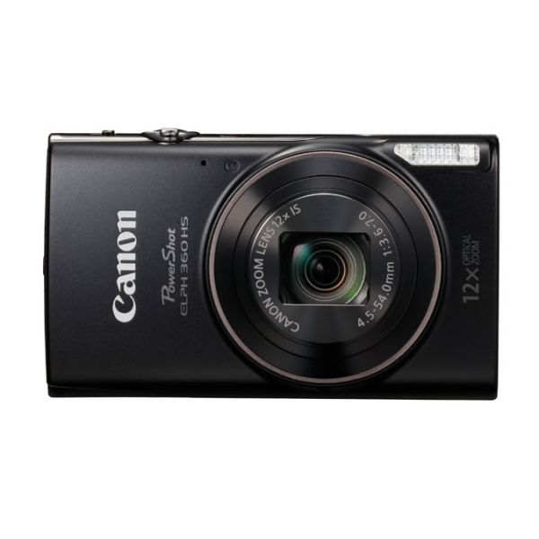 CAMARA DIGITAL CANON 20.2MP ZOOM OPTICO 12X NEGRO 1075C001