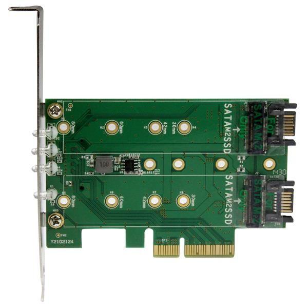 TARJETA ADAPTADORA PARA SSD STARTECH PCI-EXPRESS PEXM2SAT32N1