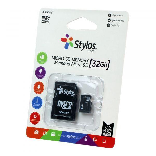 MEMORIA MICRO SD STYLOS STMS321B 32 GB STMS321B