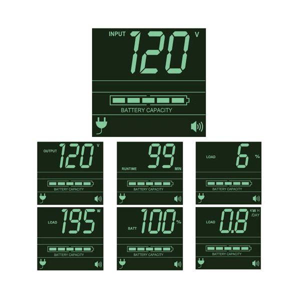 NO BREAK TRIPPLITE SMARTPRO SINUSOIDAL INTERACTIVO 1.5KVA 1.35KW LCD