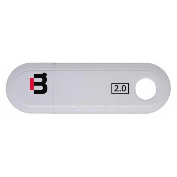MEMORIA USB FLASH BLACKPCS 2109 16GB BLANCO PLASTICO MU2109W-16
