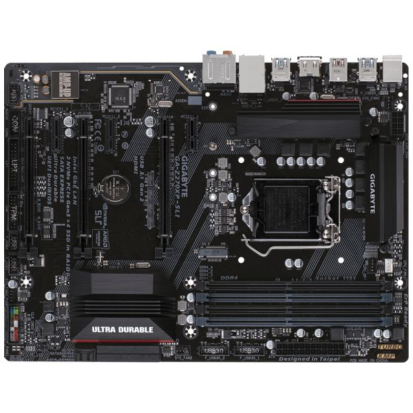 Tarjeta Madre Gigabyte GA-Z270XP-SLI LGA1151 ATX - DIMM, DDR4-SDRAM