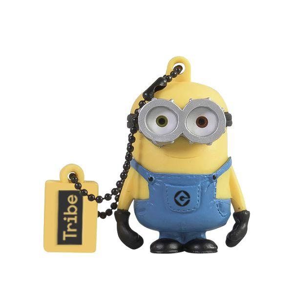 MEMORIA USB TRIBE FD021520 AMARILLO 16 GB USB 2.0