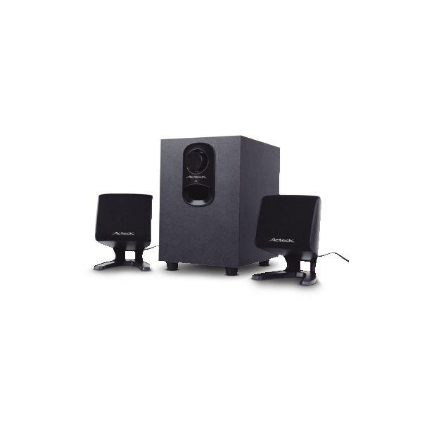 BOCINAS ACTECK SUBWOOFER, 2.1, FRECUENCIA 150 Hz-20KHz AC-914697