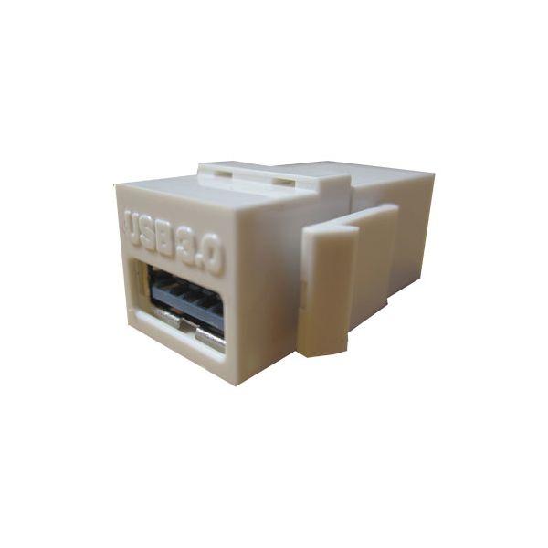 JACK USB COPLE BROBOTIX NEGRO 65630 H-H V3.0