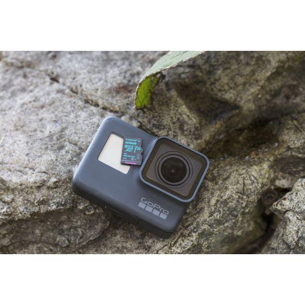 MICRO SD KINGSTON CANVAS GO 64GB CL10 UHS-I U3 V30 90MB/S C/ADAPTADOR