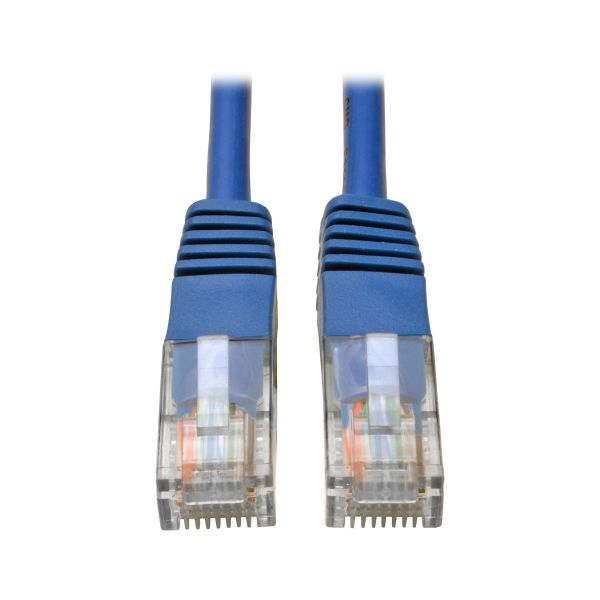 CABLE PATCH TRIPP LITE CAT5E UTP RJ-45 MACHO 1.22M AZUL N002-004-BL