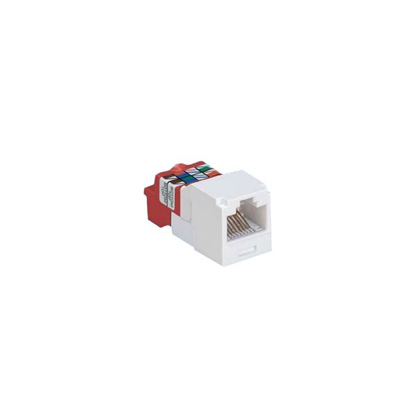 JACK MODULAR PANDUIT MINI-COM TX5E CAT5E BLANCO CJ5E88TWH