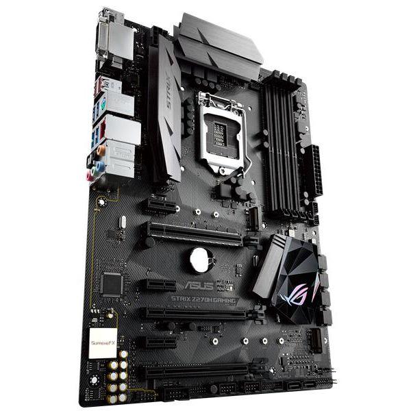 TARJETA MADRE ASUS ROG STRIX Z270H GAMING 4DDR4 3866 HDMI/DVI 1151 CAJ