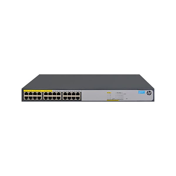 SWITCH HP JH019A GIGABIT ETHERNET 1420-24G-POE+ 124W 24 PUERTOS