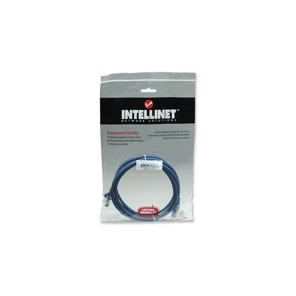 CABLE PATCH INTELLINET 2.0 MTS (7.0F) CAT-5E UTP AZUL 318983