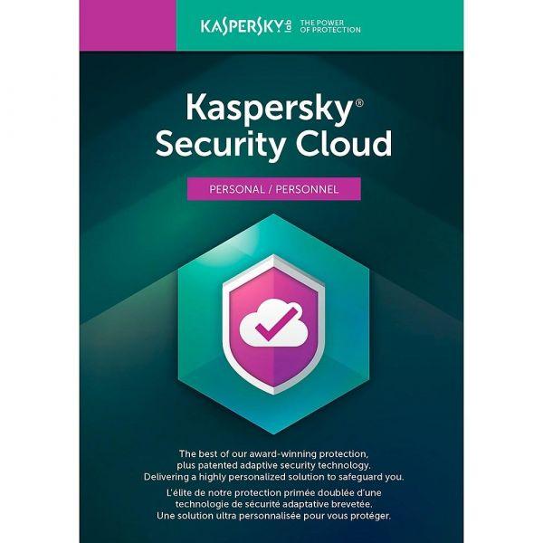ANTIVIRUS KASPERSKY SECURITY CLOUD PERSONAL 1 USR  5 DV 1 AÑO TMKS-183