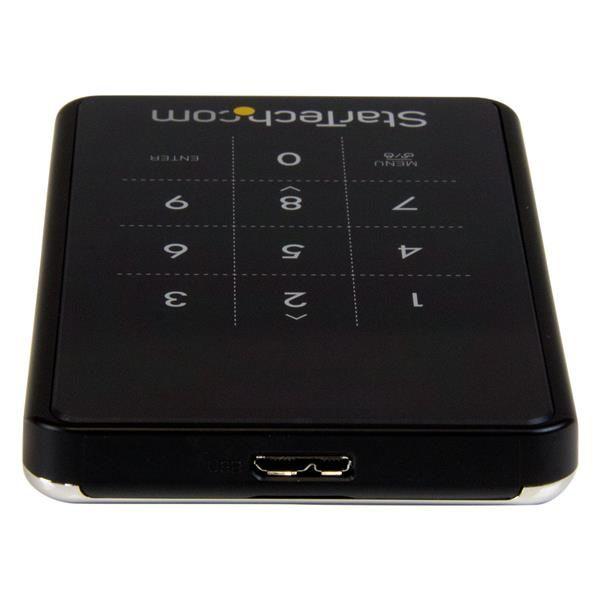 STARTECH GABINETE USB3.0 CIFRADO PARA HDD 2.5
