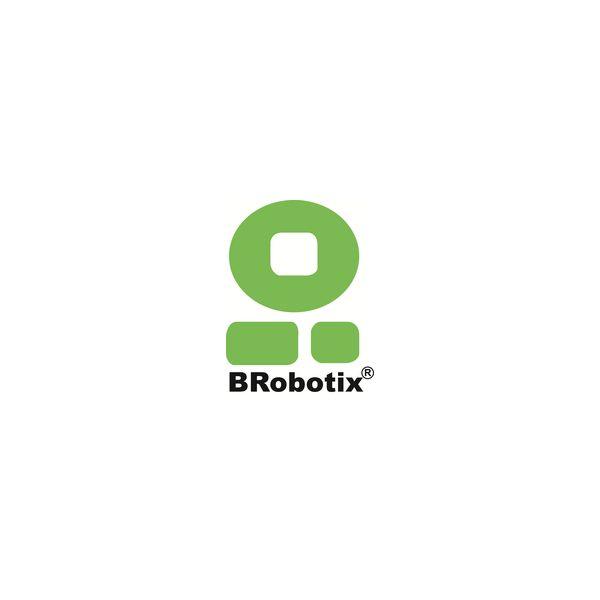 BARRA PARA RACK BROBOTIX NEGRO 6 CONTACTOS 15A 1U ACERO 833015