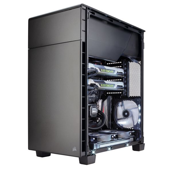 GABINETE CORSAIR CARBIDE 600Q SIN FUENTE CC-9011080-WW