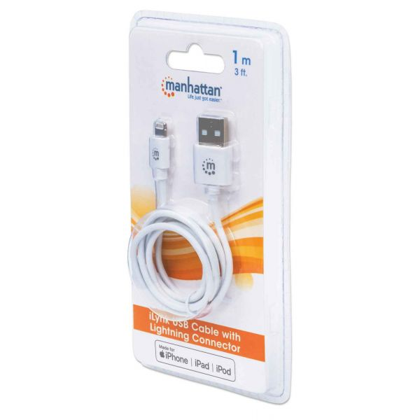 CABLE MANHATTAN ILYNK USB LIGHTNING IPHONE 393744