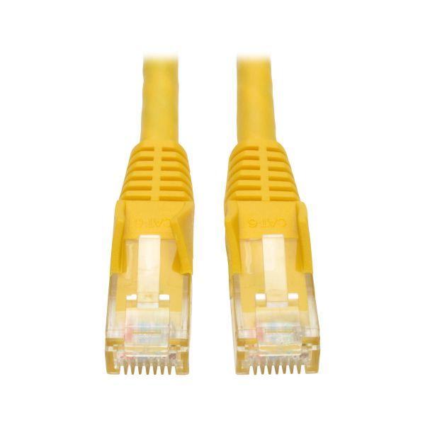 CABLE PATCH TRIPP LITE CAT6 UTP RJ45 M/M AMARILLO 30.5 N201-001-YW