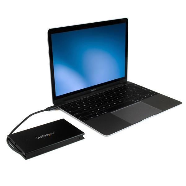 STARTECH GABINETE USB 3.1 USB.C P. HDD-SSD SATA III 2.5