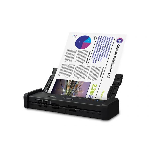 SCANNER EPSON WORKFORCE ES-200, 600 X 600 DPI, ESCÁNER COLOR, USB 3.0