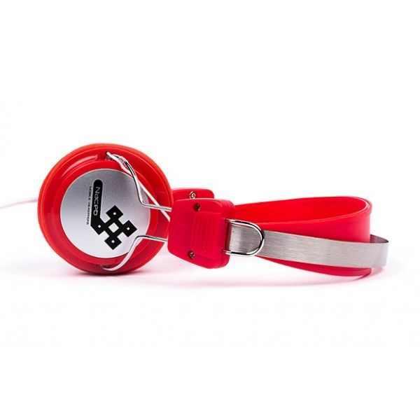 DIADEMA NACEB TECHNOLOGY ALAMBRICO 3.5MM PC-JUEGOS ROJO NA-020R