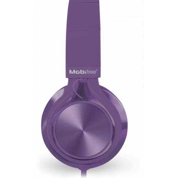 AUDIFONOS ACTECK IN-EAR CON MICROFONO METALICOS MORADO MB-02014