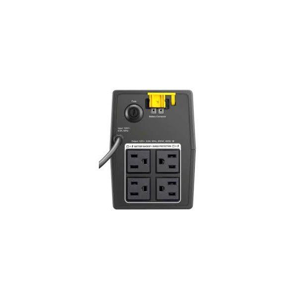 NO BREAK APC BACK-UPS, 400W, 800VA, 89-145V, SALIDA 120V BX800L-LM