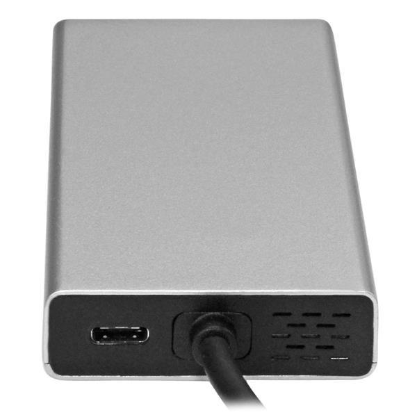 STARTECH ADAPTADOR USB-C MULT. P. LAPTOP MACHO-MACHO DKT30CHPD