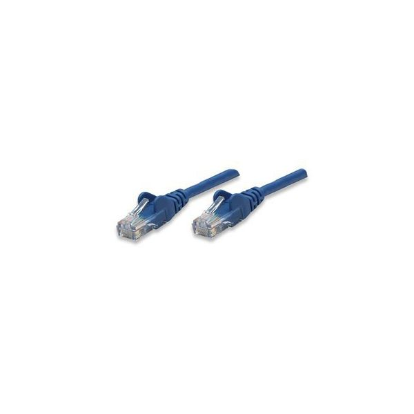 CABLE PATCH INTELLINET 0.5 MTS (1.5F) CAT-5E UTP AZUL 318129