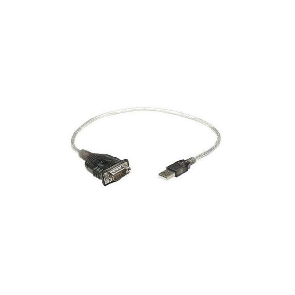 CONVERTIDOR MANHATTAN USB A SERIAL DB9M  BOLSA 205153