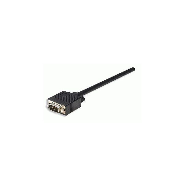 CABLE MONITOR SVGA MANHATTAN 8MM HD15M-H  15.0M 313612