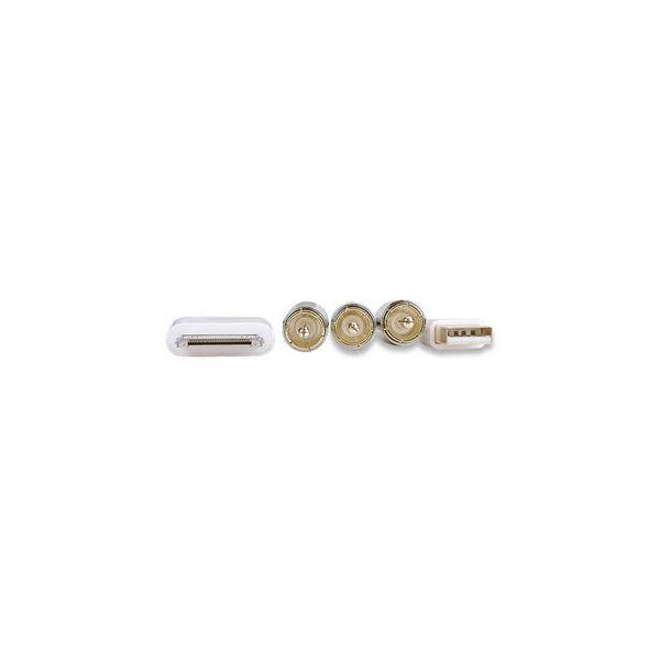 CABLE MANHATTAN ILYNK AV COMPUESTO IPOD CON USB 393713