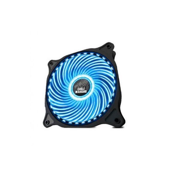VENTILADOR GABINETE EAGLE WARRIOR R02 120MM LED AZUL ACLEDFAN33R02EGW