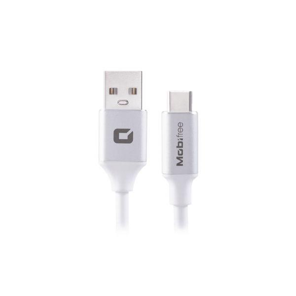 CABLE USB A TIPO C MOBIFREE 1M USB 2.0 USB C M/M 1 M BCO MB-923644