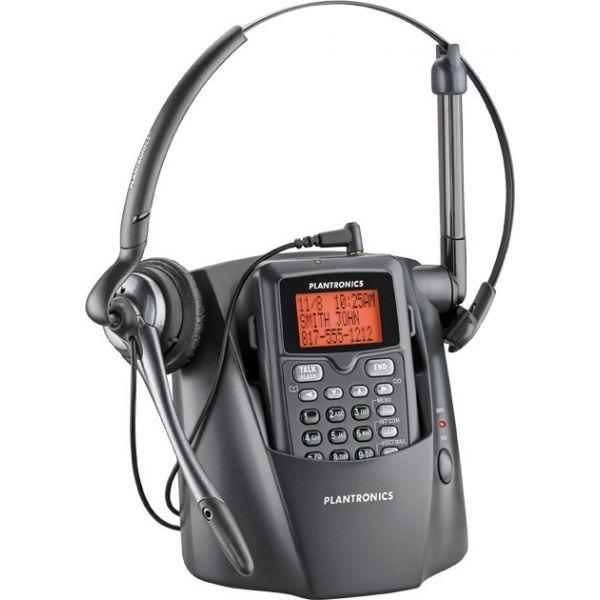 TELEFONO INALAMBRICO PLANTRONICS C/DIADEMA 1.9 GHZ CT14