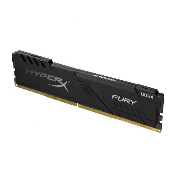 MEMORIA RAM KINGSTON HYPERX FURY BLACK 4GB DDR4 2666MHZ HX426C16FB3/4