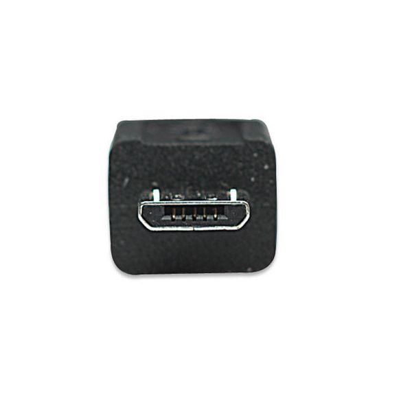 CABLE MANHATTAN USB A MACHO - MICRO B MACHO 1.8M NEGRO 307178