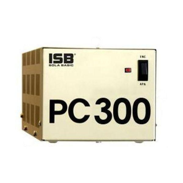 REGULADOR INDUSTRIAS SOLA BASIC PC-300 300VA 300W ENTRADA 100-