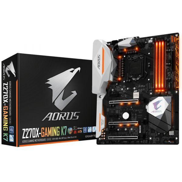Tarjeta Madre AORUS GigabyteGA-Z270X-Gaming K7 S1151 ATX-DDR4-SDRAM
