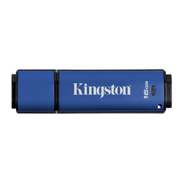 MEMORIA USB KINGSTON DT VAULT PRIVACY 3.0 16GB ENCRIPTADO AES 256BIT