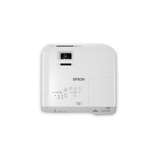 PROYECTOR EPSON POWERLITE 970 XGA 3LCD 4000 LUMEN 15000:1 HDMI RJ45