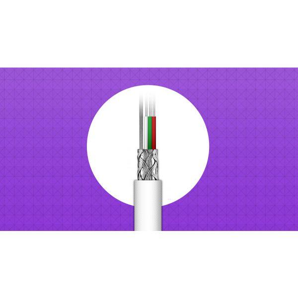 CABLE LIGHTNING ADATA NEGRO APPLE 1M CABLE LIGHTNING AMFIAL-100CM-CTI