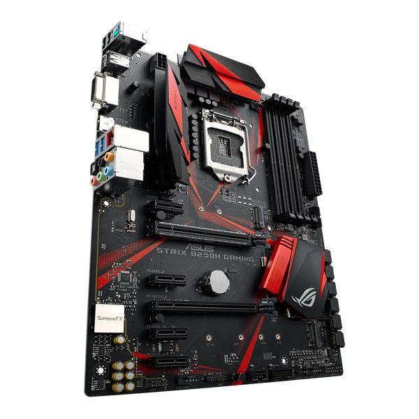 TARJETA MADRE ASUS  ROG STRIX B250H GAMING LAN,DDR4 2400MHz HDMI