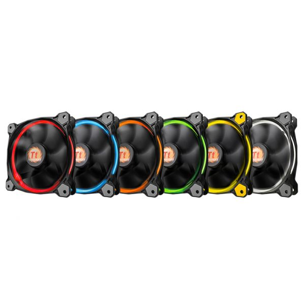 VENTILADOR THERMALTAKE RIING 12 LED RGB 120MM 1500RPM CL-F042-PL12SW-A
